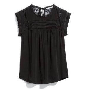 Daniel Rainn becru lace detail blouse NWT